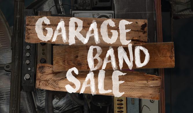 Garage Band Sale