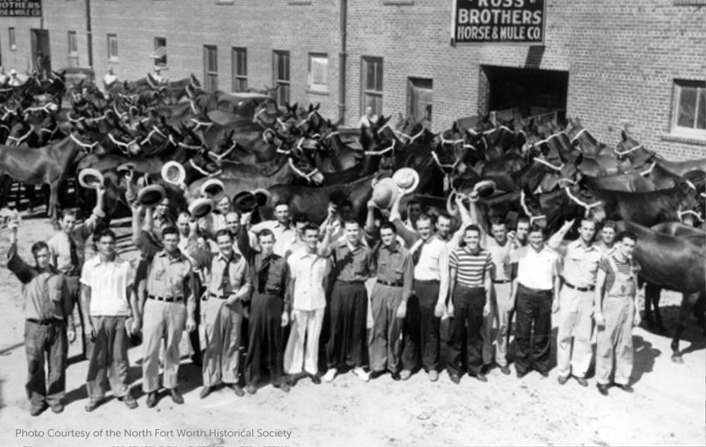 History Fort Worth Stockyards