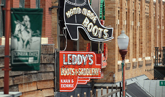 M L Leddy S Boots Amp Saddlery Fort Worth Stockyards