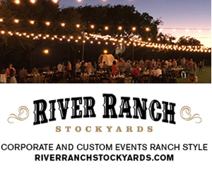 River Ranch: From intimate meetings for 30, weddings with western flavor to corporate events for 1,000 or more.