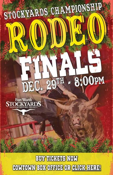 Stockyards Championship Rodeo Finals Fort Worth Stockyards