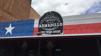 The Thirsty Armadillo
